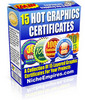Thumbnail 15 Hot Graphic Certificates (PLR)