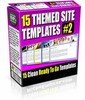 Thumbnail 15 Themed Site Templates V2 (PLR)