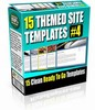 Thumbnail 15 Themed Site Templates V4 (PLR)