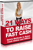 Thumbnail 21 Ways to Raise Fast Cash PLR