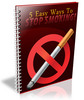 Thumbnail 5 Easy Ways to Quit Smoking - Viral Report PLR