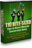 Thumbnail 110 Bite-Sized Tips to Boost Conversion Rate PLR
