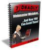 Thumbnail 7 Dealdy Webmaster Mistakes... (Viral) PLR