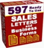 Thumbnail 597 Business and Sales Letters PLR