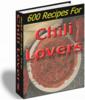Thumbnail Chili Lovers Recipes (PLR)