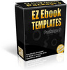 Thumbnail EZ eBook Templates Package V9 PLR