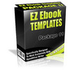 Thumbnail EZ eBook Templates Package V11 PLR
