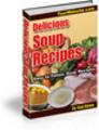 Thumbnail Delicious Soup Recipes plr