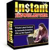 Thumbnail Instant Newsletter PLR