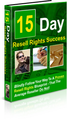 Product picture 15 Day Resell Rights Success (PLR)