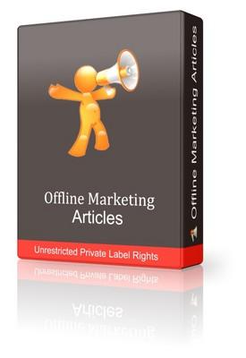 Product picture 45 Offline Marketing Articles (PLR)