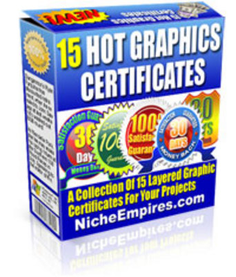 Product picture 15 Hot Graphic Certificates (PLR)