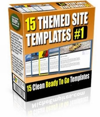 Product picture 15 Themed Site Templates V1 (PLR)