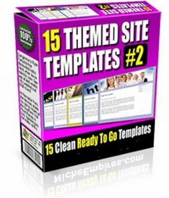 Product picture 15 Themed Site Templates V2 (PLR)