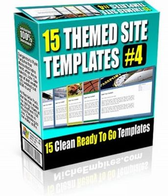 Product picture 15 Themed Site Templates V4 (PLR)
