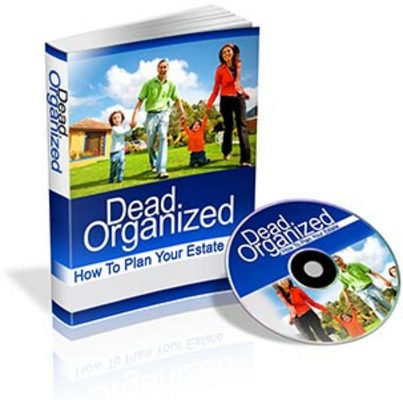 Product picture Dead Organized With Plr