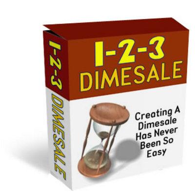 Product picture 1-2-3 Dimesale  PLR