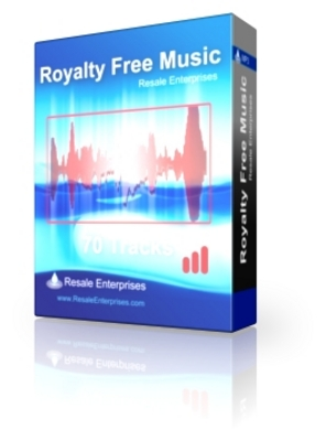 Product picture 70 Royalty Free Music Tracks (PLR)