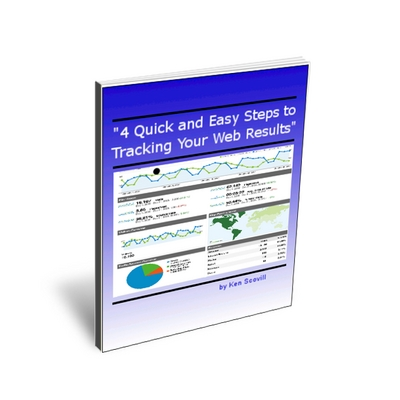 Product picture 4 Quick and Easy Steps to Tracking Your Web Results PLR