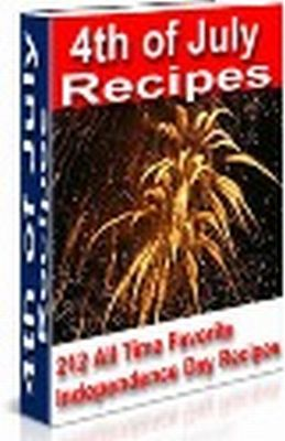 Product picture 4th of July Recipes PLR