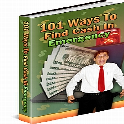 Product picture 101 Ways To Raise Emergency Money PLR