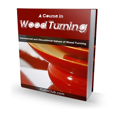 Product picture A Course In Wood Turning With Plr