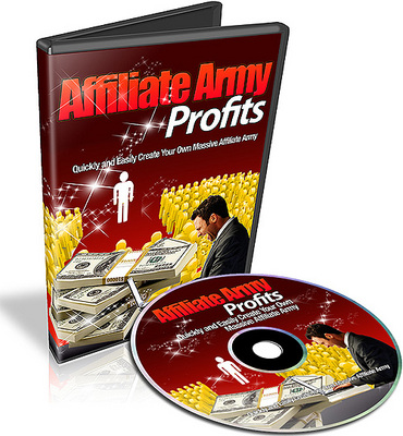 Product picture Affiliate Army Profits - Video Series (PLR)
