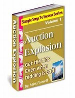 Product picture Auction Explosion (PLR)