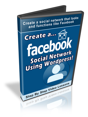 Product picture Create a Facebook Social Network Using Wordpress - Video PLR