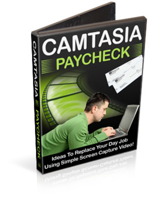Product picture Camtasia Paycheck - Video Tutorials PLR