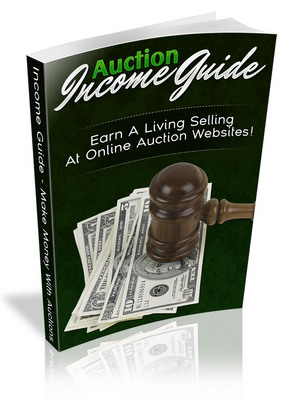 Product picture Auction Income Guide PLR