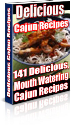 Product picture Cajun Recipes PLR