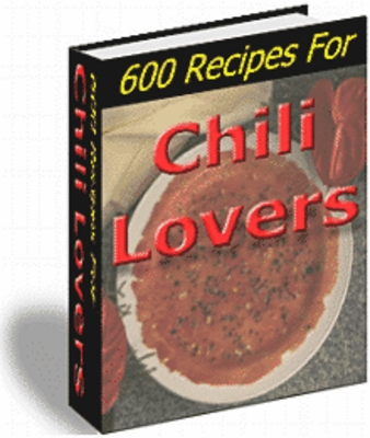 Product picture Chili Lovers Recipes (PLR)
