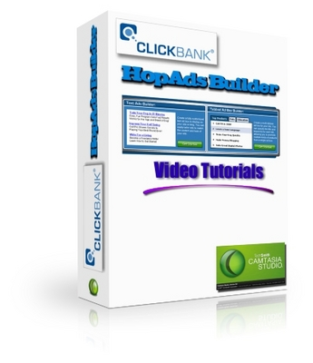 Product picture ClickBank HopAd Builder Video Tutorials