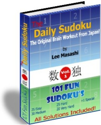 Product picture Daily Sudoku Puzzles plr