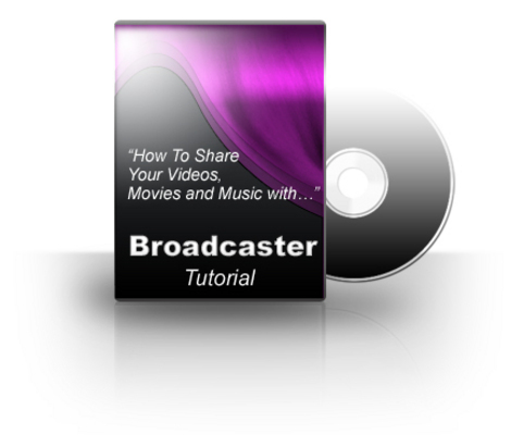 Product picture Broadcaster Video Tutorial (PLR)