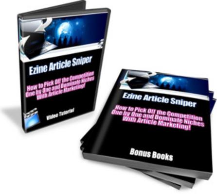 Product picture Ezine Article Sniper - Video Tutorial
