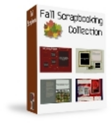 Product picture Fall Scrapbooking Collection PLR