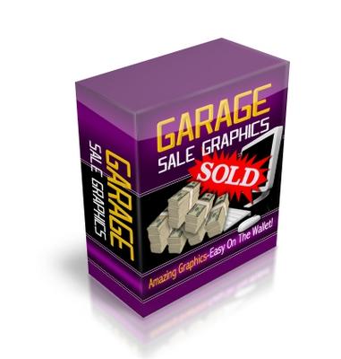 Product picture Garage Sale Graphics plr