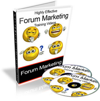 Product picture Highly Effective Forum Marketing Video Tutorials (PLR)