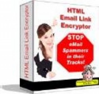 Product picture HTML Email Link Encryptor plr