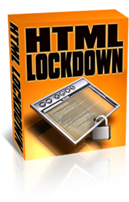 Product picture HTML Lockdown (PLR)