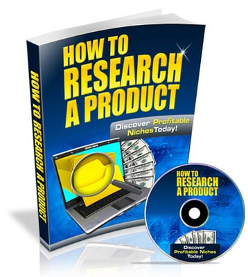 Product picture How to Research a Product - Video Series PLR