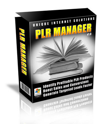 Product picture PLR Manager Software