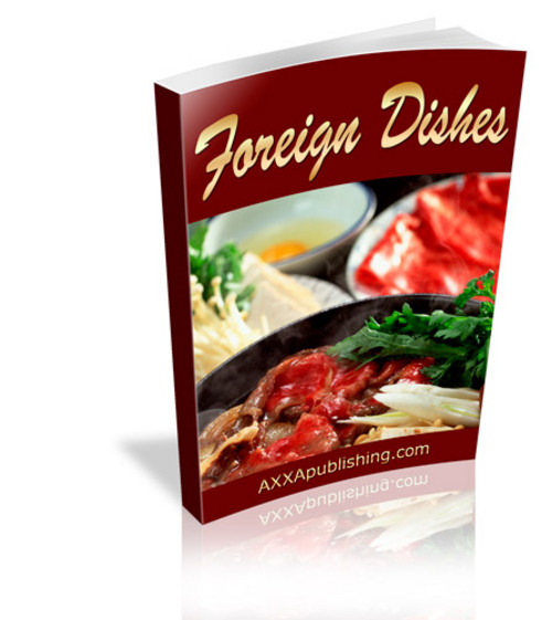 Product picture Foreign Dishes (PLR)